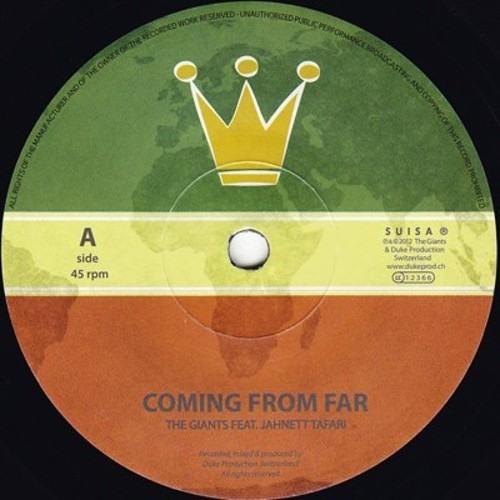 DPR01 - A side - Jahnett Tafari / Coming From Far - B side - The Giants / Livity Dub