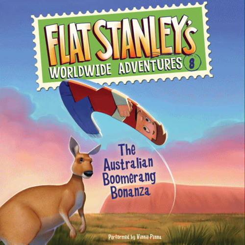 Flat Stanley's Worldwide Adventures #8: The Australian Boomerang Bonanza by Jeff Brown