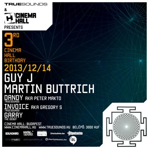 Steve Perez - Cinema Hall & TrueSounds pres. Martin Buttrich & Guy J DJ Contest Mix