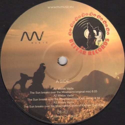 Miklos Vajda - The sun breaks over the mountains (SpecDub remix)*OUT NOW ON VINYL*