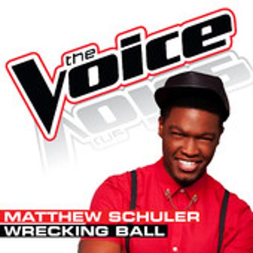 Matthew Schuler - Wrecking Ball (The Voice - Studio Version)