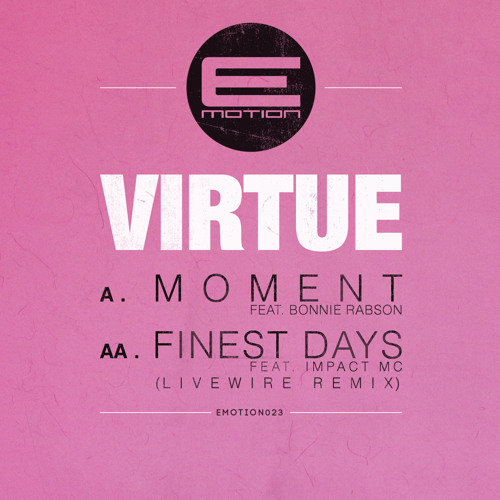 Virtue Feat Bonnie Rabson - Moment - EMOTION023  -  OUT NOW!