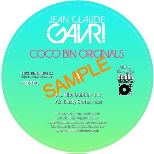 "Jean Claude Gavri - Dusty Crates - Ltd Colour Vinyl 12"" - COCOBINORIGINALS001 - TBA- Low Q Prevew"