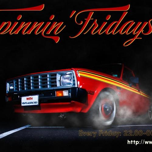 VinylAddicted-Spinnin' Fridays (Curve 1) (08-Nov-2013) (Rodon FM) (Full Tracklist)