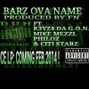 Barz Ova Names ft.K3yz$ Da G.O.N., Mike Mezzl, Philoz, & Citi Starz (Prod By.FN) #DCELPDROPPINFEB2014