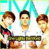 Forever In Your Mind - She Lights The World -