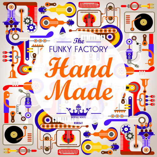 RSR 041 // The Funky Factory - Hand Made