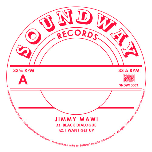 Jimmy Mawi - I Want Get Up