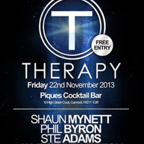 THERAPY @ PIQUES NOVEMBER PROMO MIX III