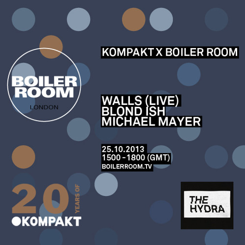 Blond:Ish Boiler Room mix