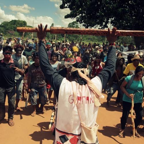 Discurso emocionante de indígena Guarani Ñandeva em defesa de sua terra