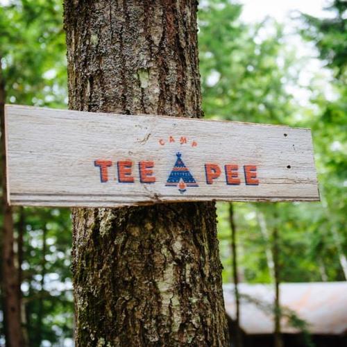 Oh Camp TeePee