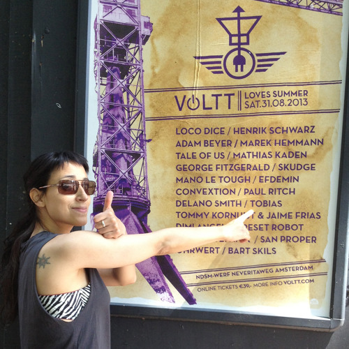 Tobias. live at Voltt 31.8.13