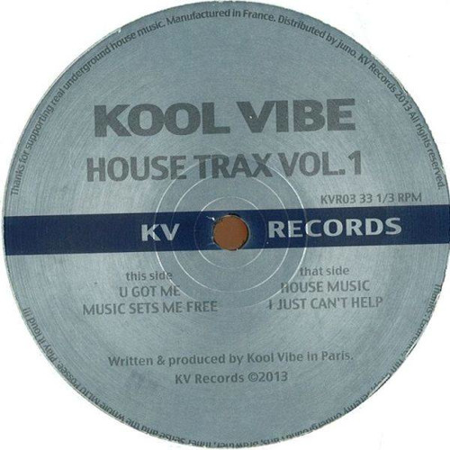 B1 Kool Vibe - House Music - KVR03 - KV Records