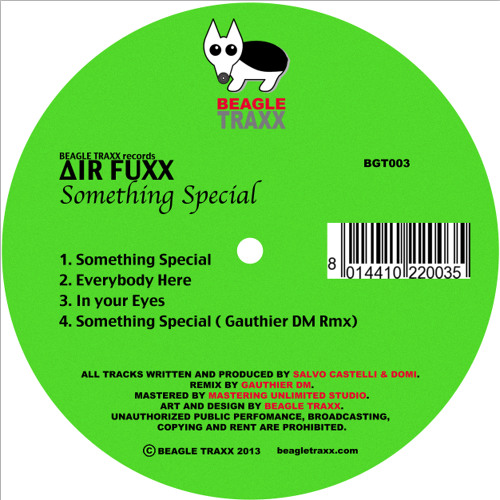 Air Fuxx- In Your Eyes