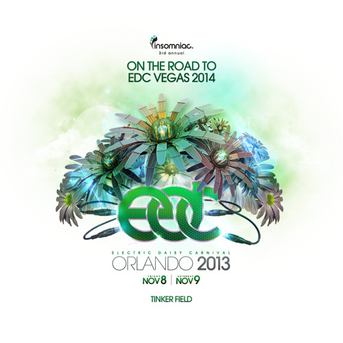 Beenie Becker - Take Off @ Electric Daisy Carnival, EDC Orlando 2013 [played by Candyland]