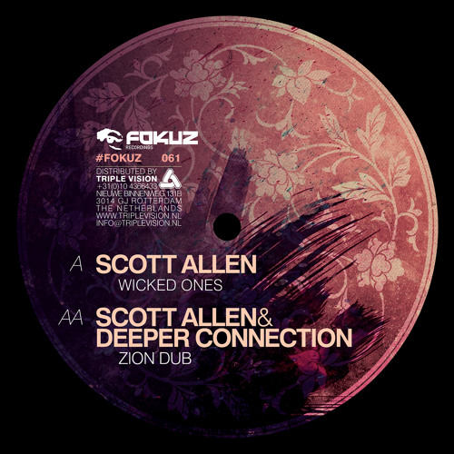 Scott Allen & Deeper Connection - Zion Dub - NOW AVAILABLE!!