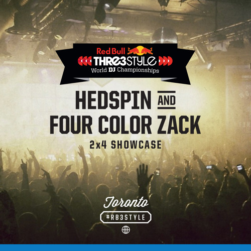Thre3style World Finals 2013 Hedspin & Four Color Zack 2x4 Showcase