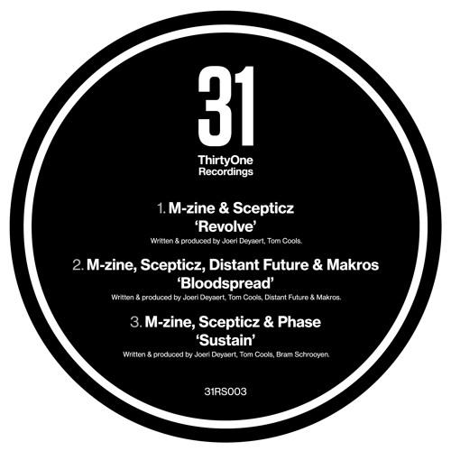 M-zine, Scepticz, Distant Future & Makros - Bloodspread - ThirtyOne Recordings - 31RS003