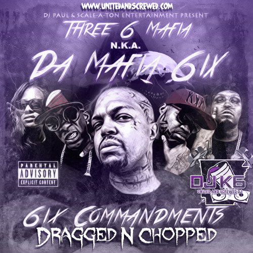 Da Mafia 6ix - Murder On My Mind Dragged N Chopped(ft. SpaceGhostPurrp, Bizzy Bone & Krayzie Bone)