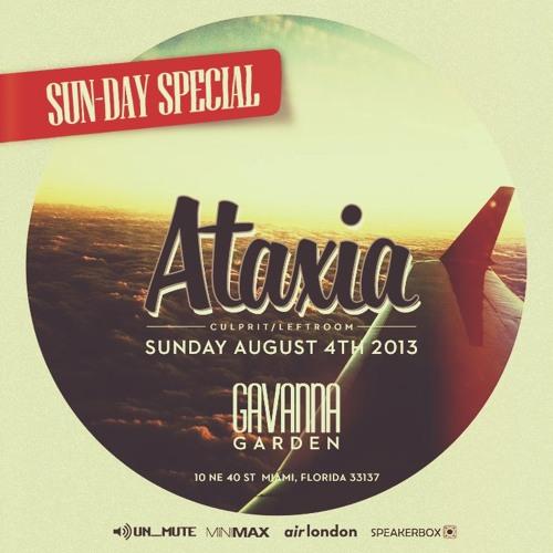 ATAXIA - Electrify Mag Podcast - Live In Miami