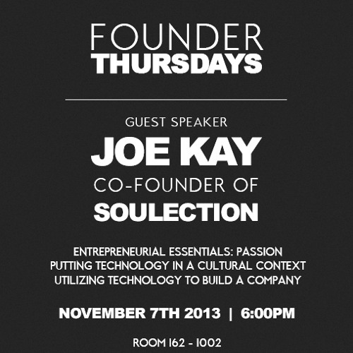 Soulection, My Life, & My Journey | Guest Speaker @ Cal Poly Pomona