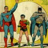 Superman meets Batman on the 1940's radio show (PLEASE READ INFO)