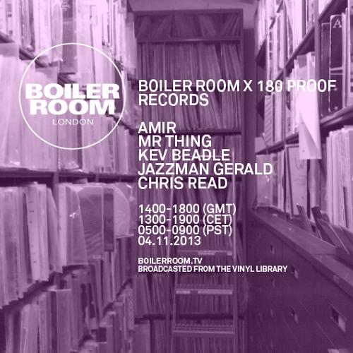 Amir Boiler Room mix