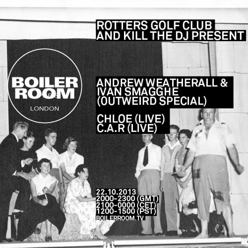 C.A.R. live in the Boiler Room