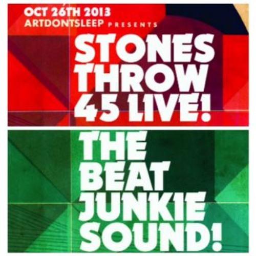 ArtDontSleep Presents The Stones Throw X Beat Junkies Quick Mix