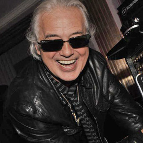 Jimmy Page at the Classic Rock Awards 2013