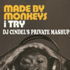 Made By Monkeys- I Try (Dj Cindel's Private Mash Up Mix)