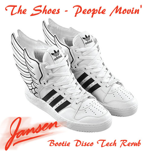 The Shoes - People Movin' (Jansens Bootie Disco Tech Rerub)