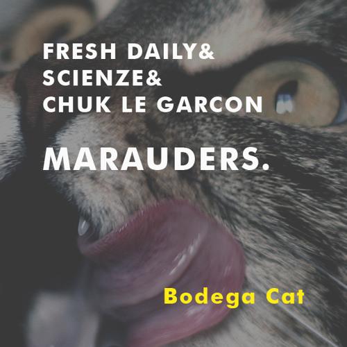 MARAUDERS INTERNATIONAL: (ScienZe, Fresh Daily, Chuk Le Garcon) // BODEGA CAT