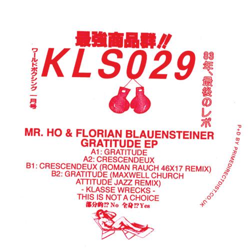 KLS029 - Mr. Ho & Florian Blauensteiner - Gratitude EP (Previews)