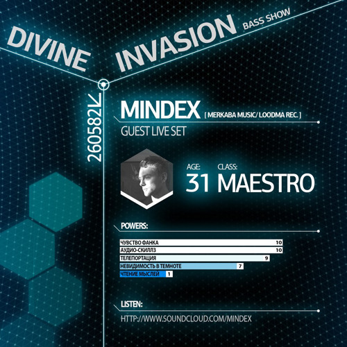 Mindex - Live Set For Divine Invasion Bass Show (FREE DOWNLOAD)