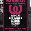 WEAREJUNK x Watergate Worldwide Affairs - 16.11.13 - Lee Jones Promo Mix