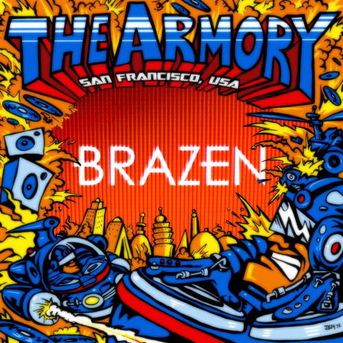 The Armory Podcast - 010 - Brazen
