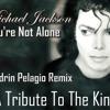 Michael Jackson - You're Not Alone (Sandrin Pelagio Remix)