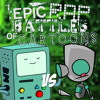 BMO vs GIR. Epic Rap Battles of Cartoons 23.