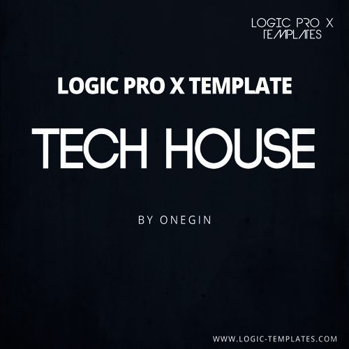 Tech House Logic Pro X Template