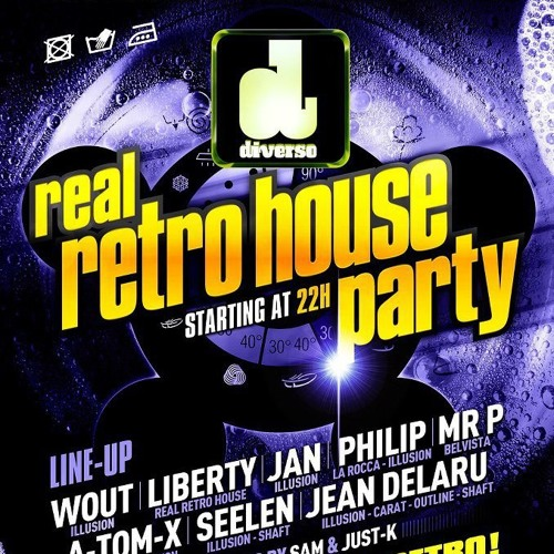 0100 - 0200 Liberty Vs Just - K @ Real Retro House Party (Diverso) Hechtel Eksel