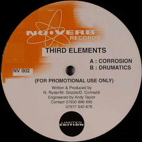 Third Elements - Corrosion - Nu Verb Records (2000) **FREE DOWNLOAD**