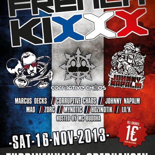 Johnny Napalm @ French Kixxx (16-11-2013 Turbinnenhalle Oberhausen, DE)