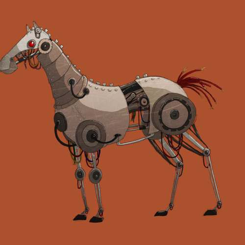 Robot Horses Run Fast. The Future Is Scary.