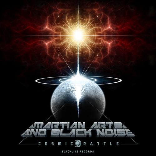 "- MARTIAN ARTS & BLACK NOISE - ""Cosmic Rattle""- Ep Promo Extract"