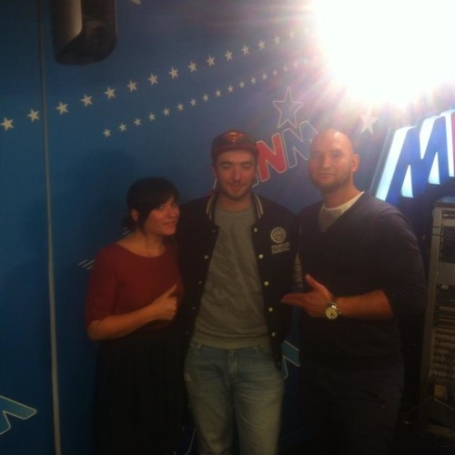 DJ-set at UrbaNice Radioshow MNM.be