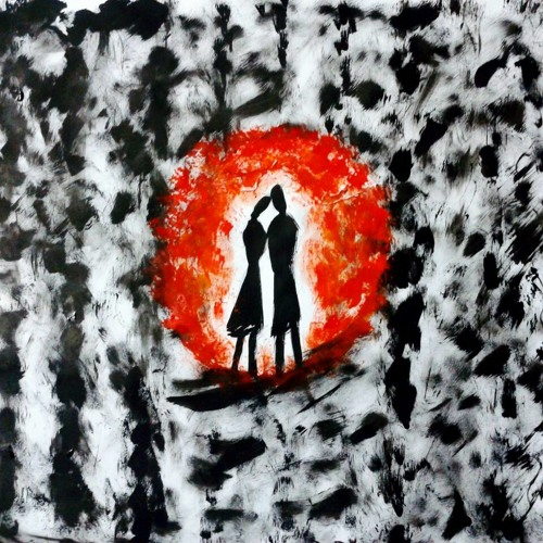 two become one / art by Dr. Sakshi Batla