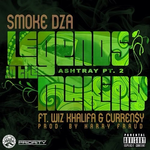 Smoke DZA-Legends In The Making ft Wiz Khalifa & Curren$y, Prod Harry Fraud, Instruments Rusty Mack