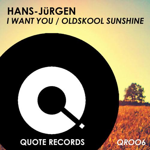 Hans-Jürgen - I Want You (preview) Out Now